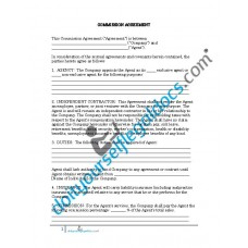 Commission Agreement - California