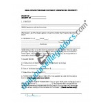 Real Estate Purchase Contract (Unimproved Property)