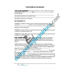 Residential Lease Agreement - Hawaii