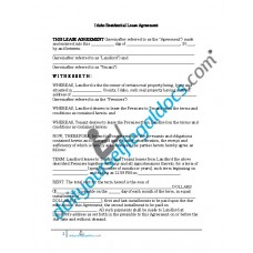 Residential Lease Agreement - Idaho