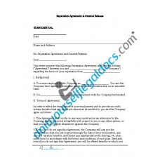 Separation Agreement And General Release